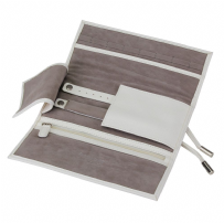 Dulwich Designs 70956 Boutique White Jewellery Roll